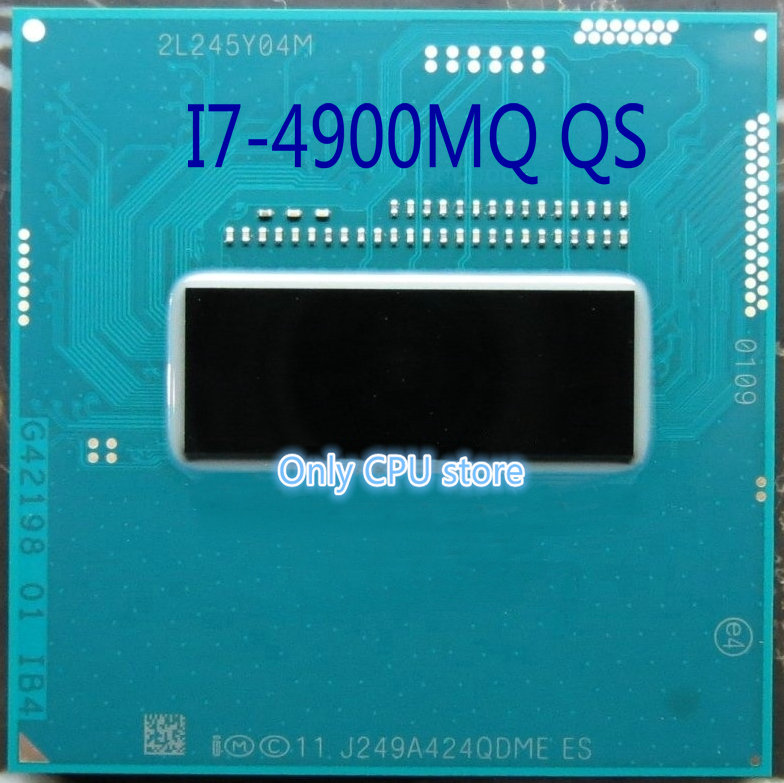 Intel Core i7-4810MQ 6M Quad-Core 2.8GHz Socket G3 Laptop CPU Processor SR1PV