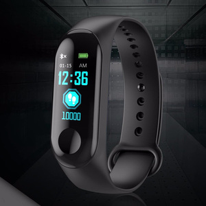Image 2 - Kivbwy Bluetooth ספורט חכם צמיד להקת קצב לב לחץ דם עמיד למים כושר M3 חכם להקת גשש כושר מד צעדים