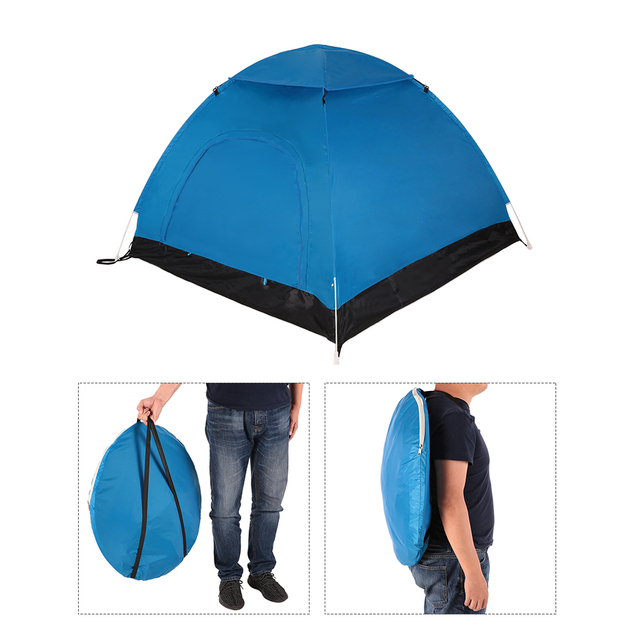 Tomshoo Portable Automatic Pop Up Tent Beach Outdoor Camping Hiking Backng Sun Shelter For