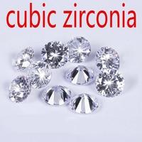 Wholesale Jewelry Supplies AAA Grade CZ Cubic Zirconia Round Zircon 11 0MM DIY Jewelry Findings Supplies