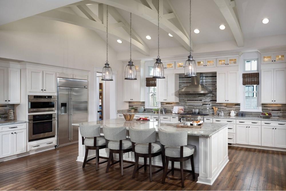 nuevo estilo buen quanlity al por menor al por mayor tradicional gabinetes de cocina de