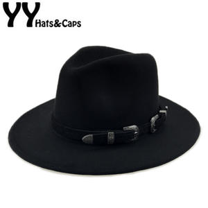 9091dc6fbb3 Felt Hat Men Hats with Women Vintage Caps Wool Fedora
