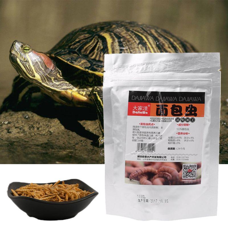 Аквариумная рыба черепаха еда натуральные насекомые Высокий Белок тропическая рыба здоровье кормушка