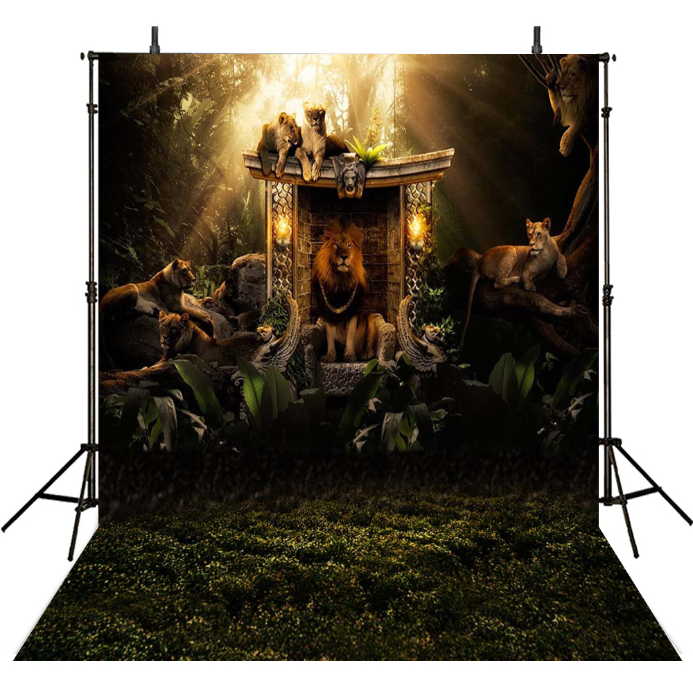 Animal Photography Backdrops Zoo Backdrop For Photography Jungle Background For Photo Studio Children Foto Achtergrond