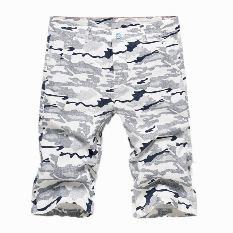 New 2018 Men Cargo Shorts Casual Loose Short Pants Camouflage Military Summer Style Cotton Knee Length Plus Size Shorts Men