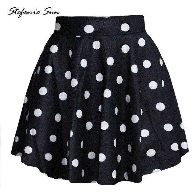 c330e0029950 Été Sexy 3D Imprimé Femmes Short Mini Jupes Taille Haute Plissée Jupe  Patineuse