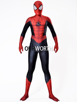 Ultimate Spiderman Costume Newest Thick Spandex Spider Man Costume Male Superhero Cosplay Costume Factory Wholesale