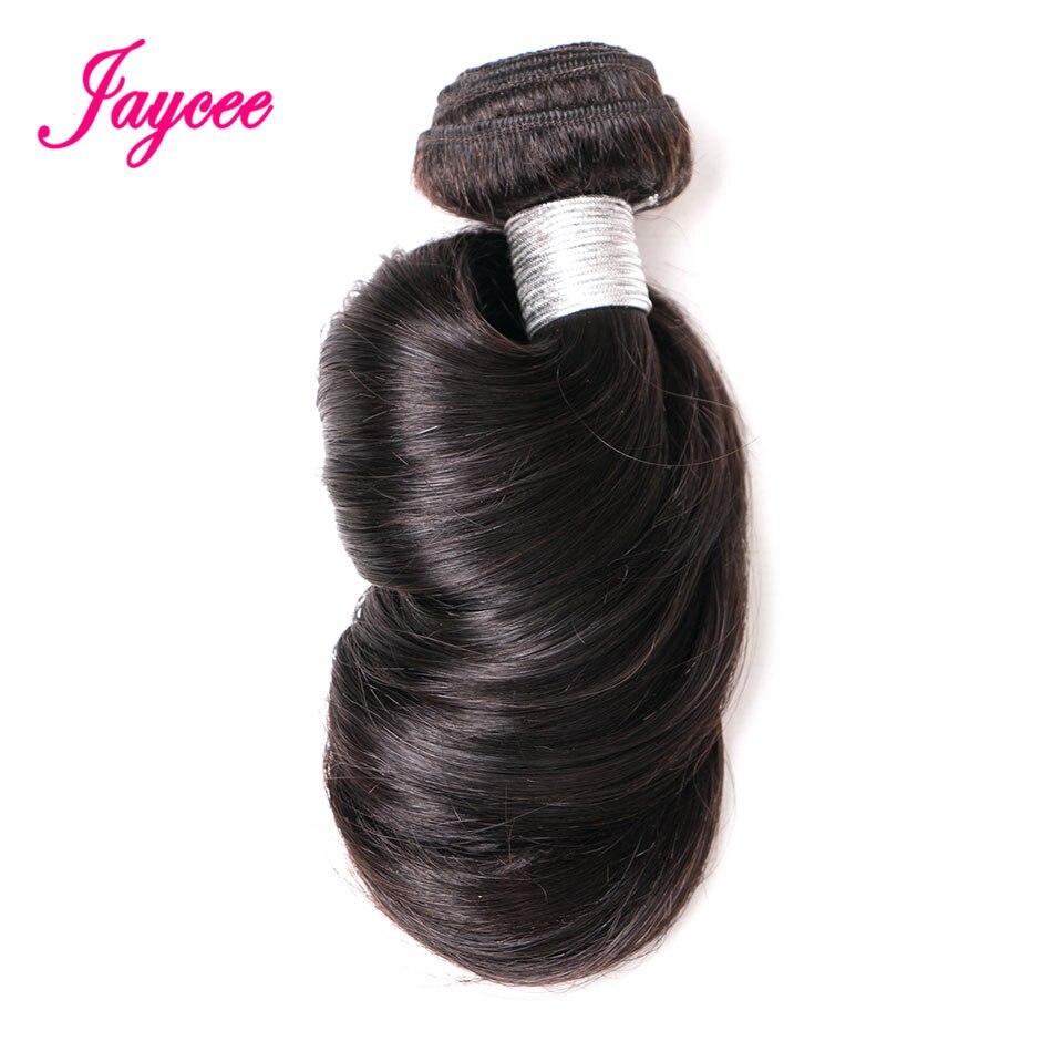 Jaycee Hair Peruvian Loose Wave Hair Weaving 8-24 inch Natural Black 1 piece 100% Remy Human Hair Bundles Free Shippping