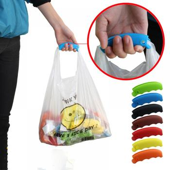 1Pc Silicone Bucket Food Stuff Shopping Labour Save Carrying Bags Handle Holder Hanger Kitchen Tools forced child labour