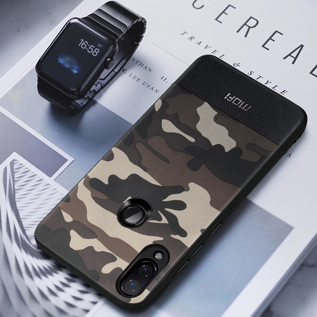 MOFi Redmi Note 7 7 Pro Luxury Camouflage Design Shockproof Back Case Cover