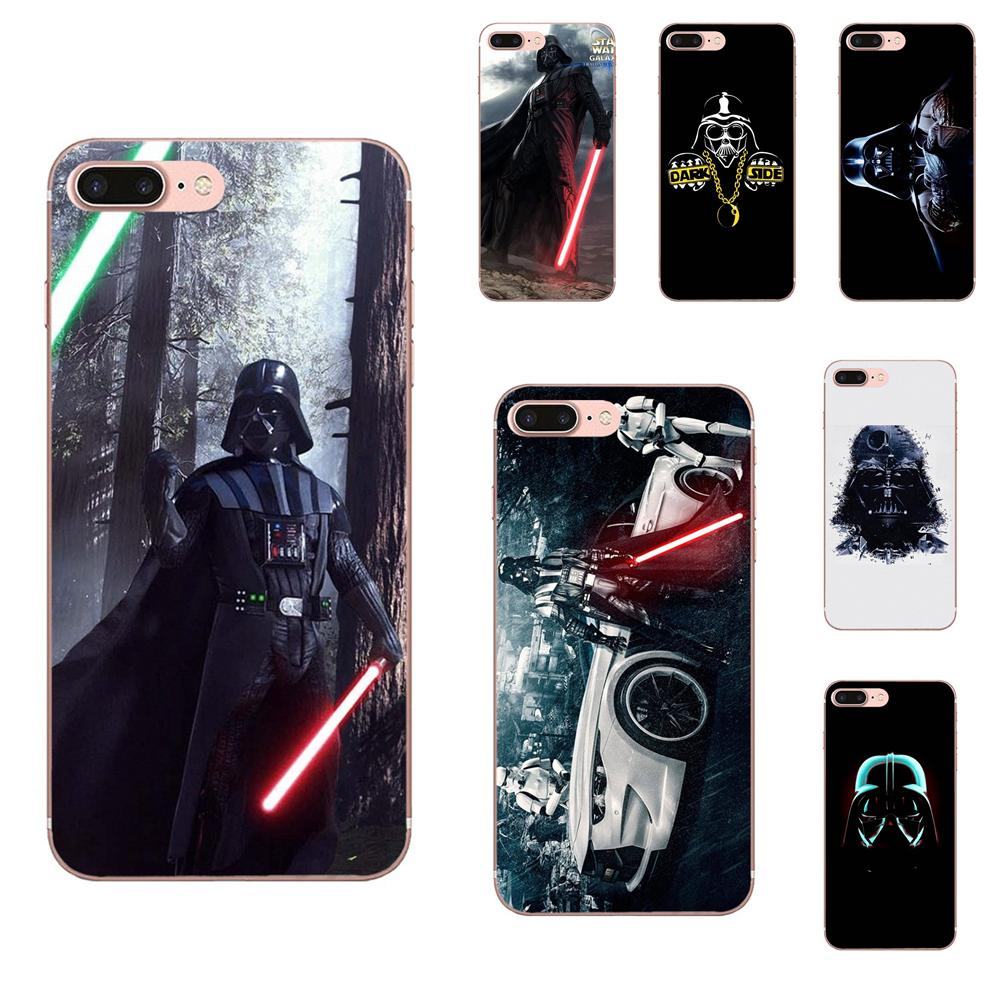 Darth Vader Starwars For Galaxy A3 A5 A7 A8 A9 A9S On5 On7 Plus Pro Star 2015 2016 2017 2018 Soft TPU Cell Cover Case image