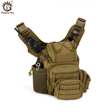 Outdoor Climbing Professional SLR Canvas Camera Bag Men Travel Bag Single Shoulder Nylon Backpack цена