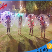 цена на 1.2M  PVC Inflatable Bubble Soccer Football Ball Bubble ball bubble football zorb ball soccer bola de futebol