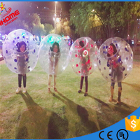 1.2M PVC kids bubble ball inflatable bubble ball soccer bubble ball for child