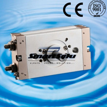 Бесплатная Доставка SMC тип пневматический привод поворотного цилиндра с одним стержнем CRQ2BS10-180