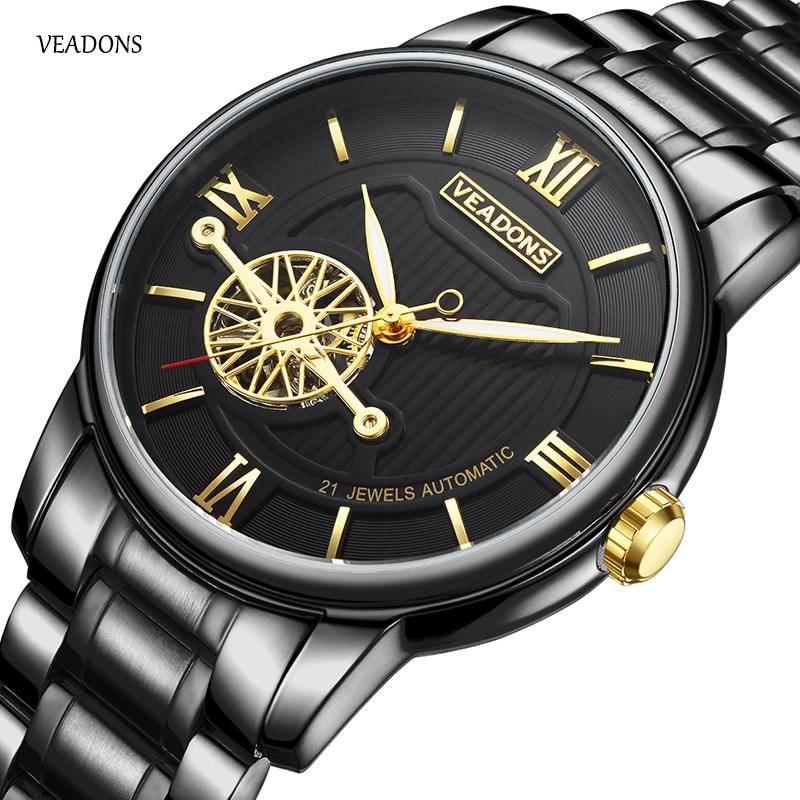 ФОТО Luxury Watch Men Automatic Mechanic Designer Male Clock Waterproof Antique Whatch Hodinky Business AAA Timepiece