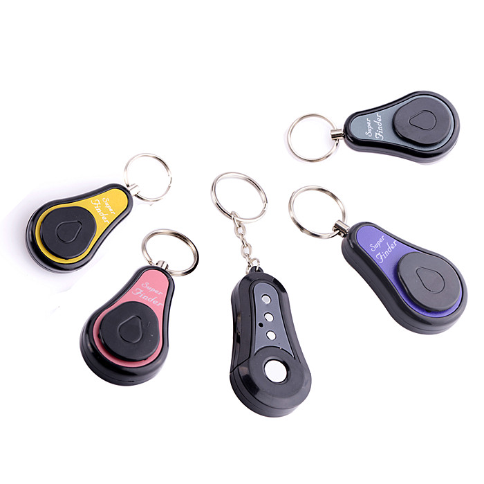 Battery Powered RF Wireless Antilost Super Electronic Finder Alarm Key Chain Alarm Not Lost 1 Transmitters 4 Receivers 4 In 1 1 pcs full range multi function detectable rf lens detector wireless camera gps spy bug rf signal gsm device finder