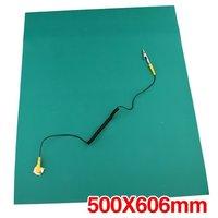 Verde desktop antistatico esd messa a terra zerbino 500x606mm + cavo
