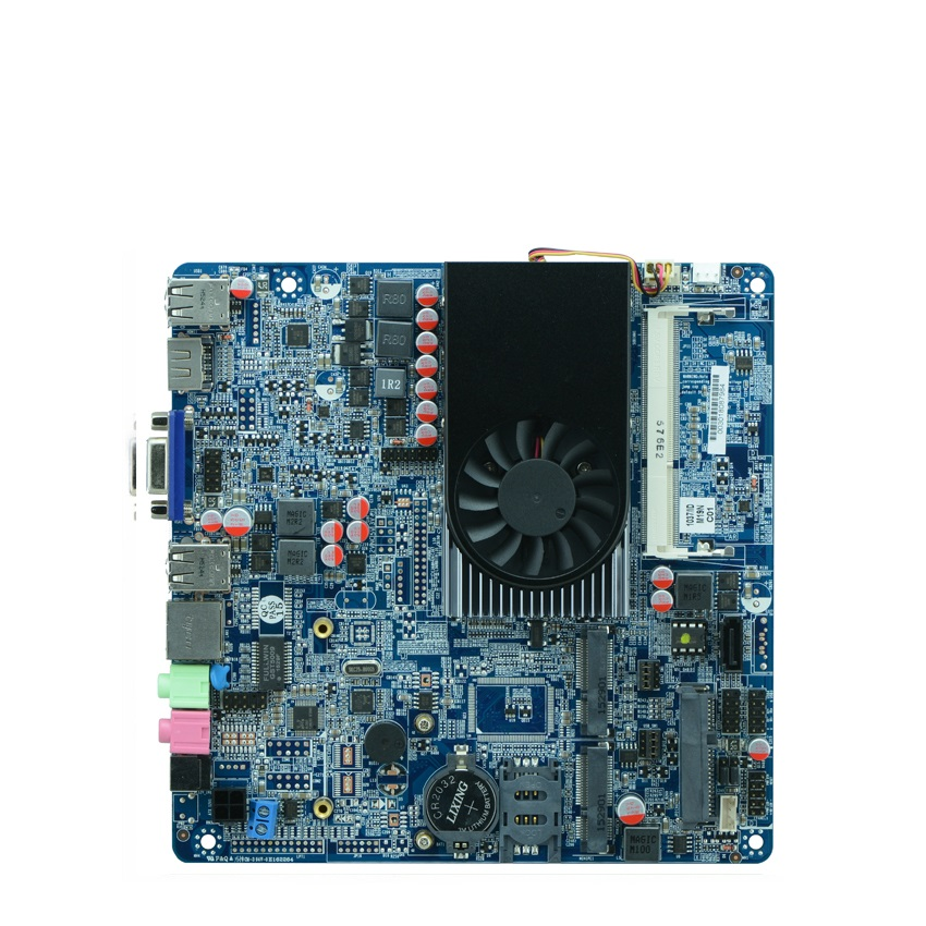 Thin motherboard 1.8GHZ 1037U all in one industrial motherboard Itx Motherboard suppport DDR3 x7dca l industrial motherboard 100