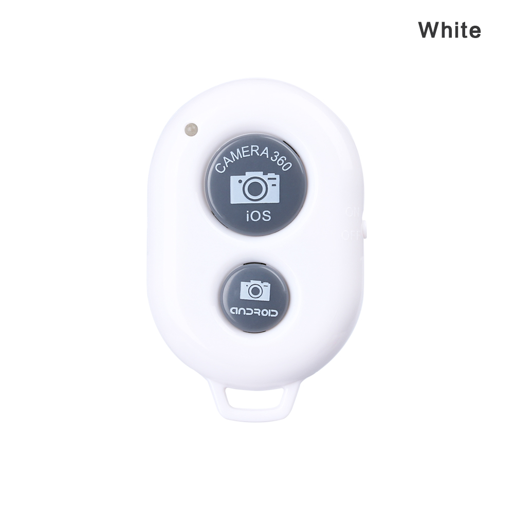 Button For /'Selfie/' Sticks Switch Wireless Bluetooth Shutter Remote