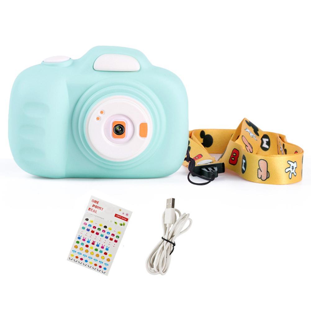 Kids Digital Camera Toy Cartoon Mini SLR HD Shooting Camera 12 Million Pixel 2.3Inch Display Beautiful Gift For Children