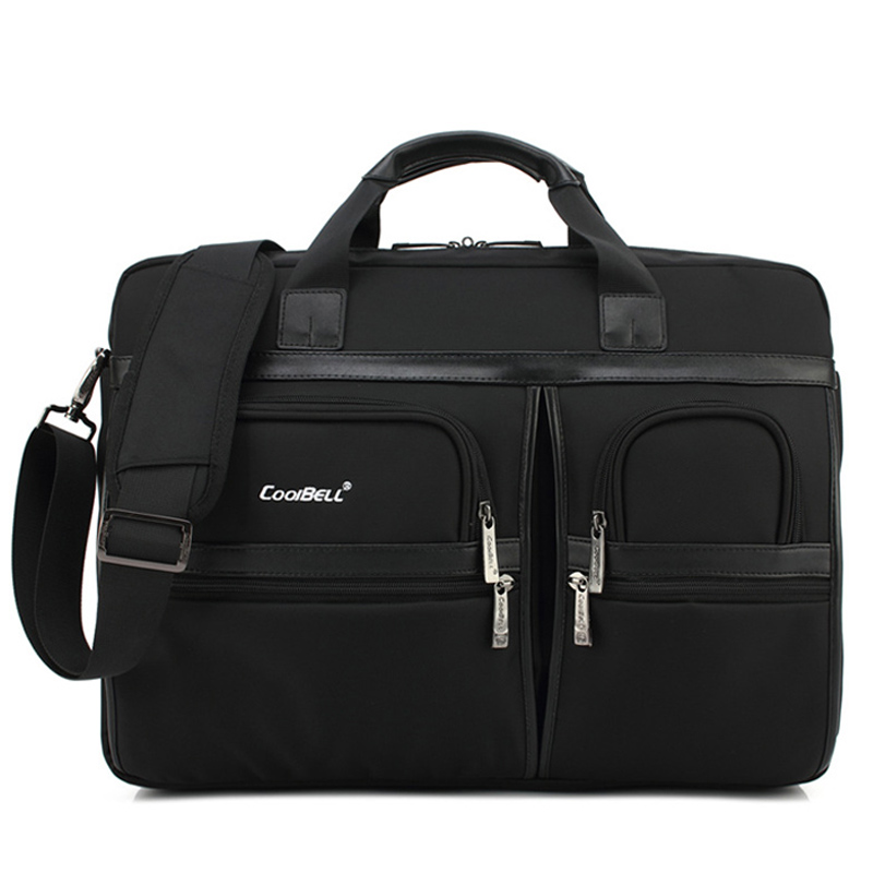Simple Brand Business Men Briefcase Bag Luxury Laptop Bag Women Large Capacity Shoulder Bag Men's Shockproof Satchel Bags XA155C