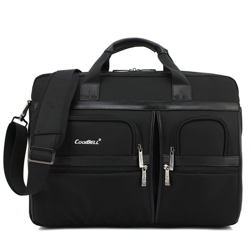 Simple Brand Business Men Briefcase Bag Luxury Laptop Bag Women Large Capacity Shoulder Bag Men's Shockproof Satchel Bags XA155C