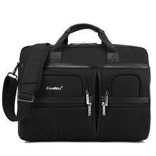Простой брендовый деловой портфель для мужчин, роскошная сумка для ноутбука, вместительная сумка на плечо, Противоударная сумка для мужчин,...