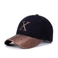 1Piece Baseball Cap Women Sports Leisure Hats X Patch Embroidery Sport Cap For Men And Women