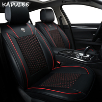 KADULEE ice silk car seat covers for fiat palio ssangyong kyron peugeot 508 608 toyota auris for chevrolet sonic car accessories