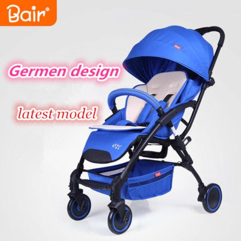 Баир складной детская коляска зонт детские автомобильные перевозки Багги Стиль путешествия коляска Wagon Портативный легкий