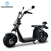 2019 Hot Selling 1000W Hub Motor Wheel Electric Citycoco Scooter EEC with Dual Seats for Passenger