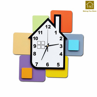 Silent Large Clocks Wall Clock Decor Kitchen House Wall Watch Klok Clocks For Home Decor Relogio Parede Walls Clock WKP127