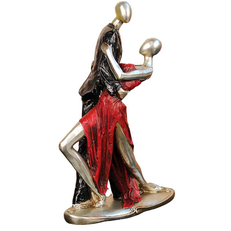 Creative Home Soft Decoration European Retro Dancing Characters Desktop Resin Abstract Lovers Figurines Ornaments Wedding GiftsCreative Home Soft Decoration European Retro Dancing Characters Desktop Resin Abstract Lovers Figurines Ornaments Wedding Gifts