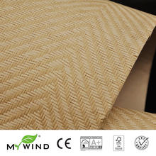 2019 MY WIND Grasscloth Wallpapers Luxury Natural Material Innocuity 3D Paper Weave Design Wallpaper In Roll Decor papier peint