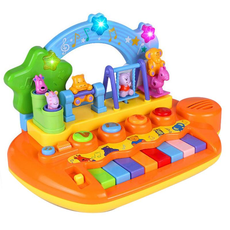 Enfants clavier de Piano électronique bébé jouets petit Piano musique éducation précoce Piano bébé illumination jouets éducatifs cadeaux