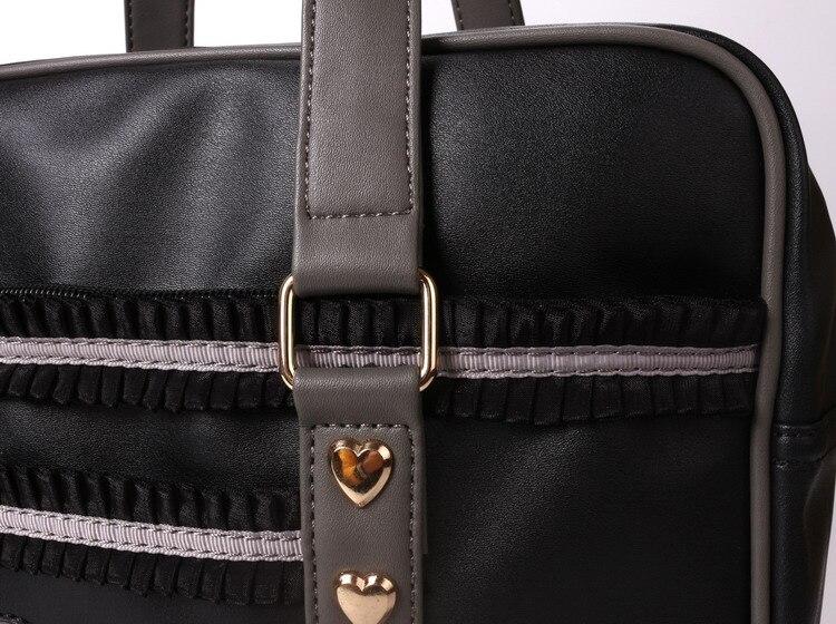 pu leather handbags