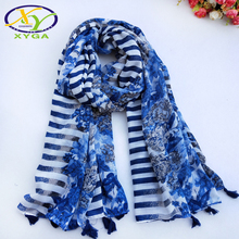 1PC Cotton Women Scarf Long Tassels Soft Summer Lady's Viscose Beach Shawls Thin Female Autumn Wraps Muslim Head Scarves Hijab