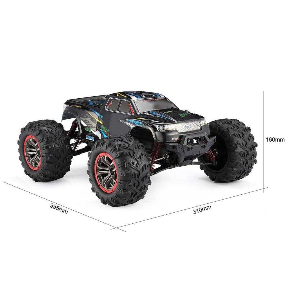 9125 4WD 1/10 RC гоночный автомобиль игрушки с высокой скоростью 46 км/ч Электрический Supersonic грузовик внедорожник багги игрушки RTR высокое качество - 6