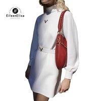 Luxury Brand Dress 2018 Snow White Women Dress 2018 Runway Designer High Quality Dress