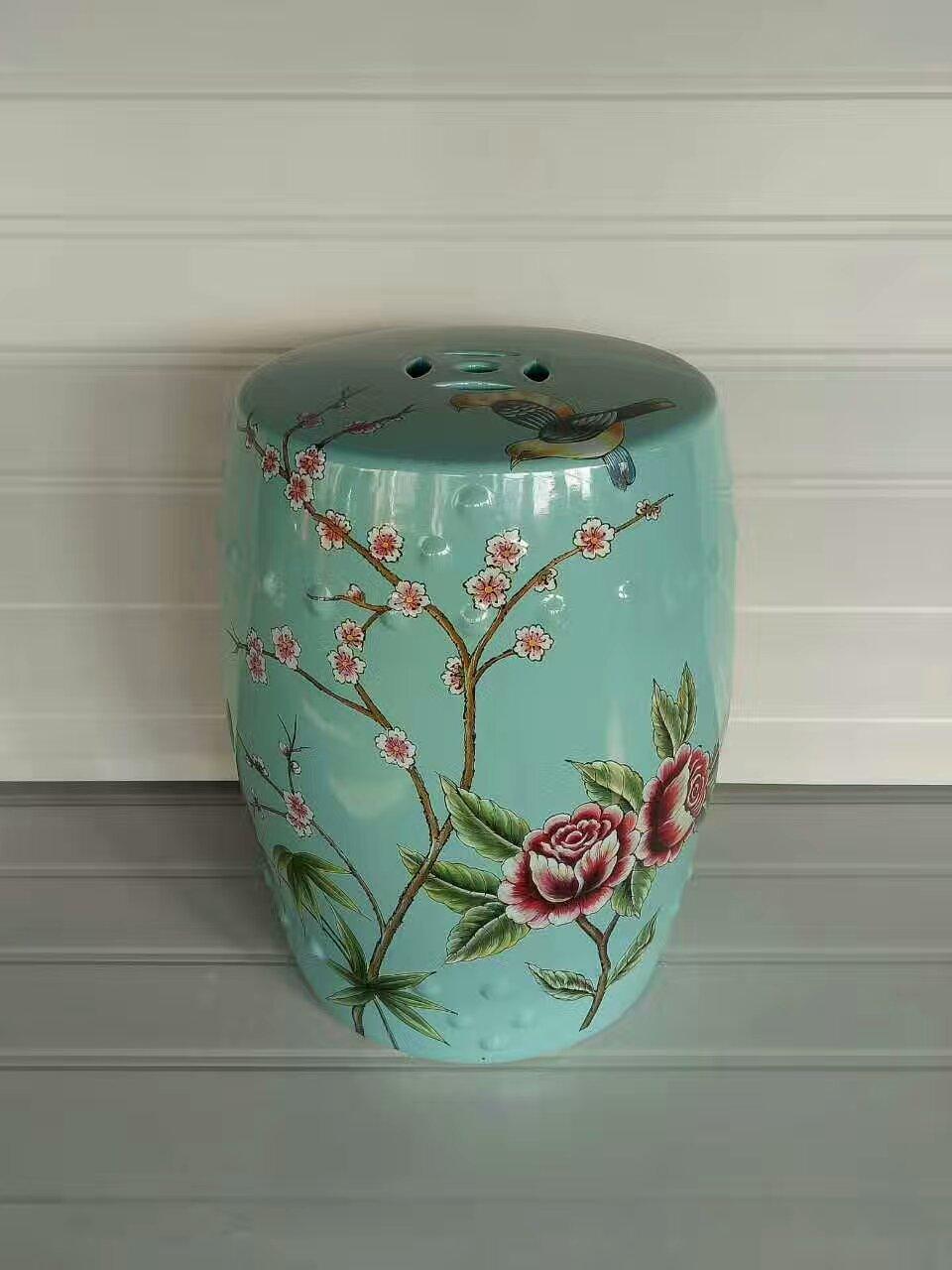 Classical Jindezhen Dressing Table Ceramic Garden Stool