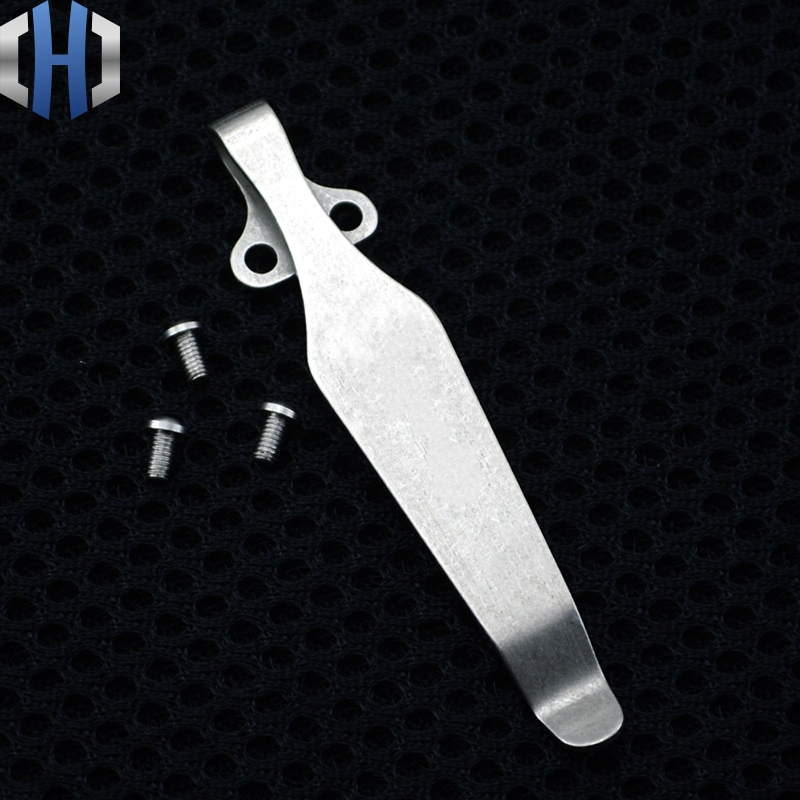 Stock!!Hot! Spider Clip Design Knife Button Pocket Clip For Knife Titanium EDC Multi Tools Knife Clip Without Pattern DIY Clip
