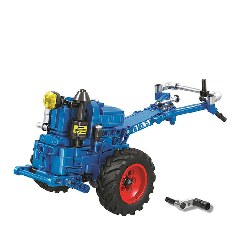 Classic Tractor Motorcycle Fit for Technic Creator Model Building Blocks Bricks Technician Toys For Children