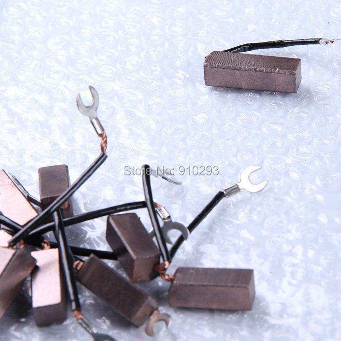 Image 2 - Escova de carbono de cobre misturada 12*12*32mm escova de carbono de alta qualidadecopper carbon brushesbrush brushbrush carbon -