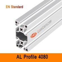 4080 Aluminium Profile EN Standard DIY Brackets Aluminium AL Extrusion Style CNC 3D DIY Printer Workbench Construction CE ISO