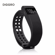 Diggro ID105 браслет Heart Rate Смарт Браслет вызова/SMS напоминание шагомер сидячий сна Мониторы смарт-браслет для iOS и Android