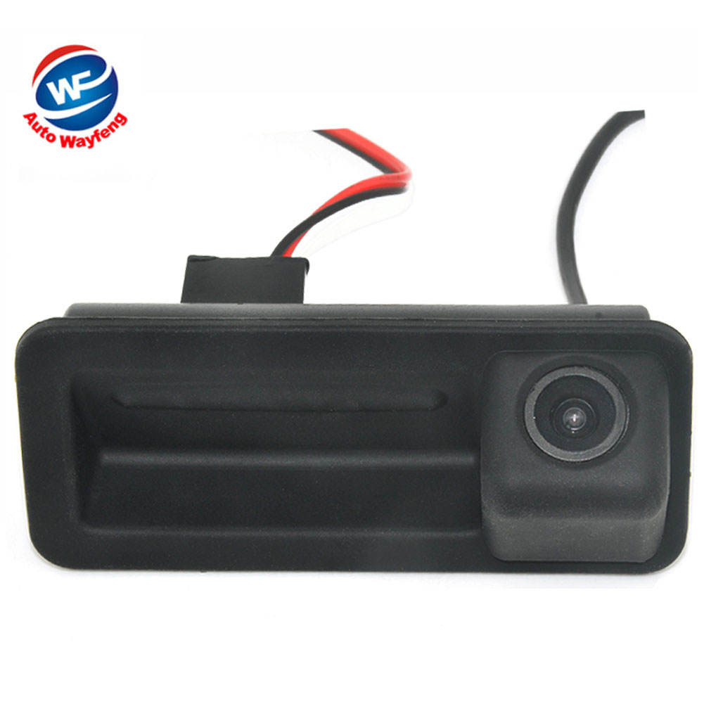CCD Car Rear View Camera For Land Rover Freelander Range Rover Ford Trunk Handle Camera For Ford Mondeo Fiesta S-Max Focus 2C 3C