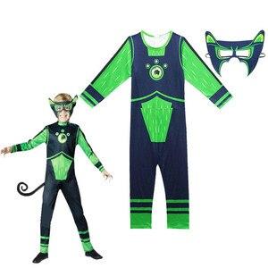 Image 4 - Wild Kratts Costume Creature Power Suit Kids Halloween Fancy Dress Wild Kratts cosplay costumes