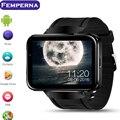 Новый LEM4 Часы-Телефон Bluetooth Wifi Android Smart Watch с 2.2 дюймов Большой Экран Smartwatch Поддержка Whatsapp Facebook Google Map