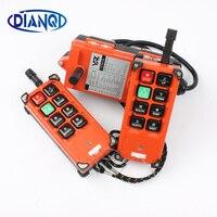 Industrial Remote Controller 18 65V 65 440V 2 Transmitter 1 Receiver Industrial Remote Control Electric Hoist